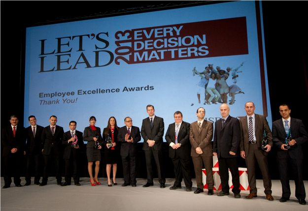HSBC Malta rewards employees for excellence in 2012