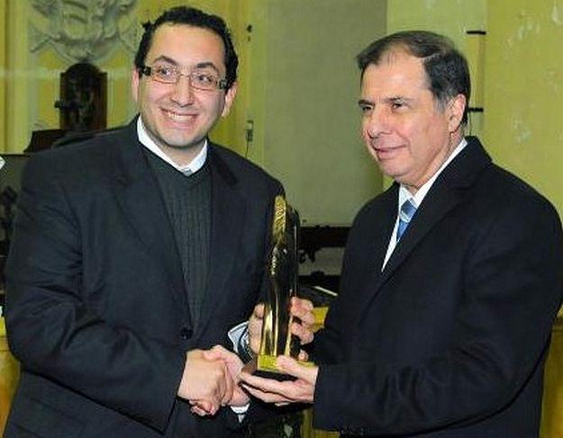 John Paul Cefai of Qala wins Youth of the Year Award 2012