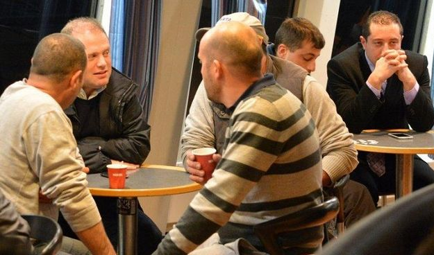 Joseph Muscat joins Gozitans for early commute to Malta