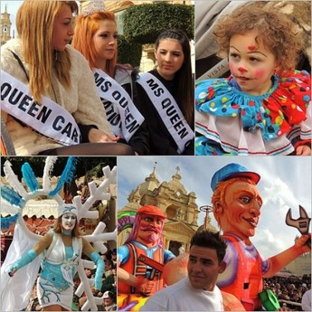 The Nadur Carnival 2013 gets off to to a great start