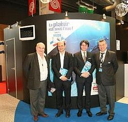 Maltese diving industry promoted at specialised fair in Paris
