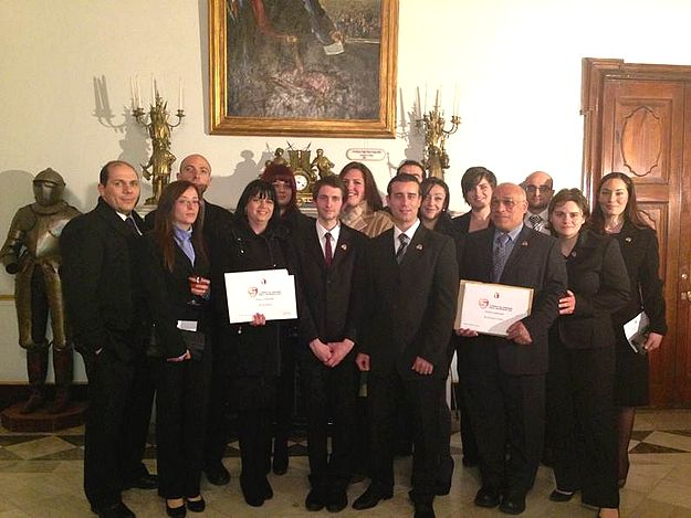 Pauline Bartolo wins President's Award for Voluntary Work