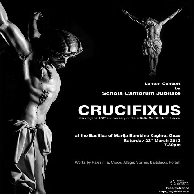 'Crucifixus' a combination of art, music & literature in Gozo