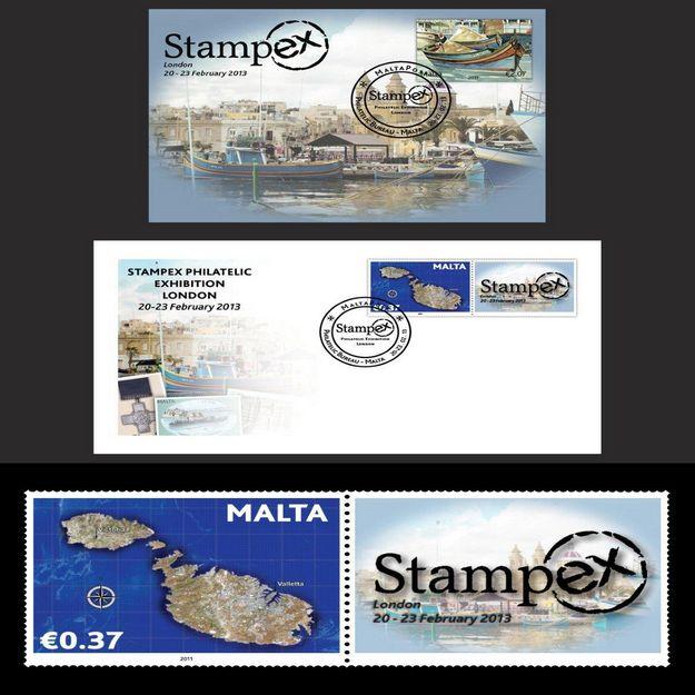 MaltaPost to participate in the Stampex Fair 2013