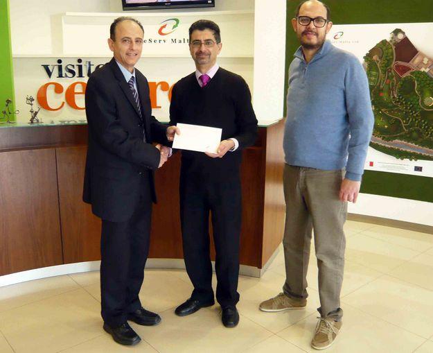 WasteServ donates €4,800 to Nature Trust Malta