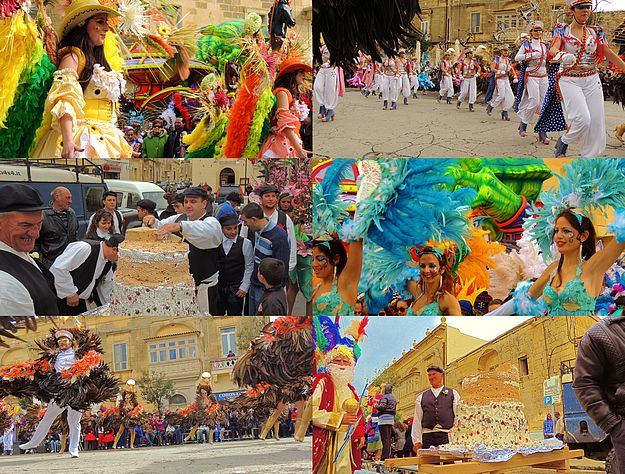 A full day of activities held for the Xaghra Carnival 2013