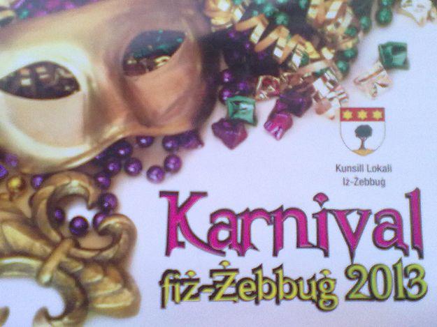 Enjoy a fun time at Zebbug Carnival 2013 this Saturday