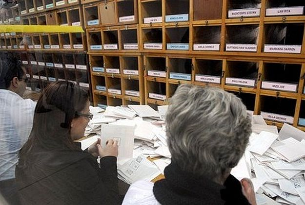 91.56% average voter turnout in Gozo, with overall average of 92%