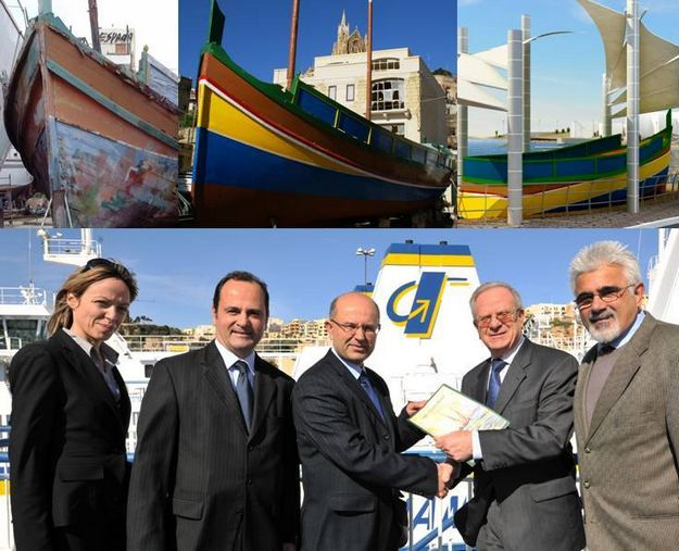 Gozo Channel supports preservation of  Dghajsa tal-Latini