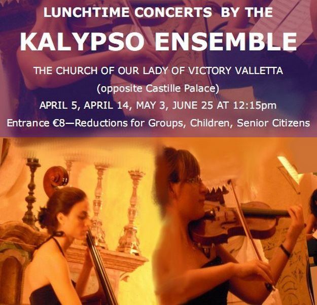 Lunchtime concerts in aid of Our Lady of Victory Church