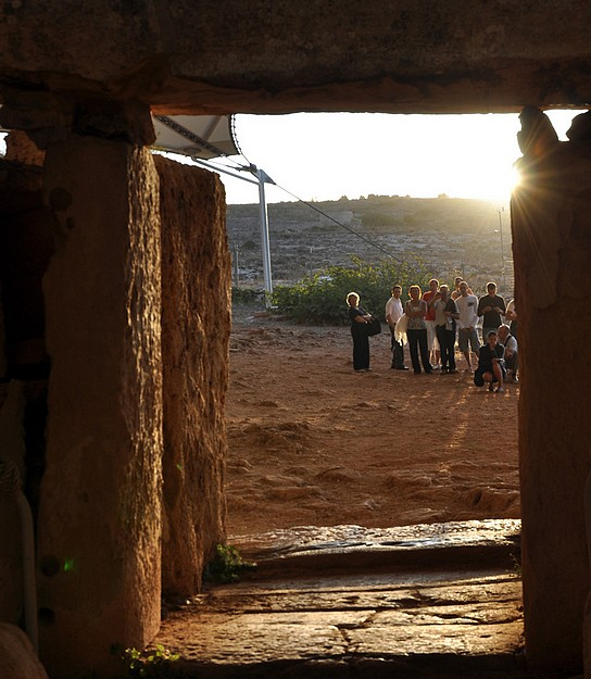 The Spring Equinox experience at the Mnajdra Temples
