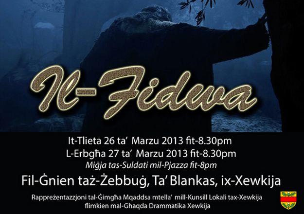 Il-Fidwa - Holy week event by Ghaqda Drammatika Xewkija