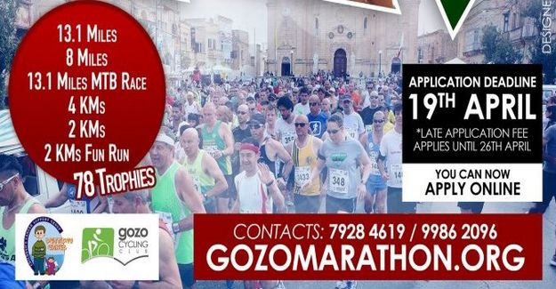 Registrations now open for the Gozo Half Marathon 2013