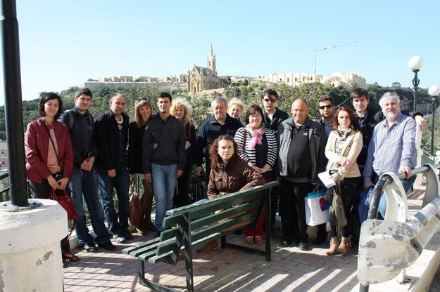 Mapdot- Grundtvig LifeLong Learning meeting held in Gozo