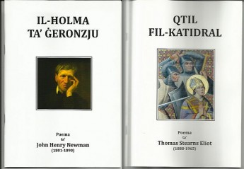 Maltese translations of a renowned poem and verse drama