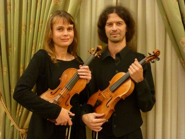 Violin recital by the Gaudos Duo for Gaulitana music festival