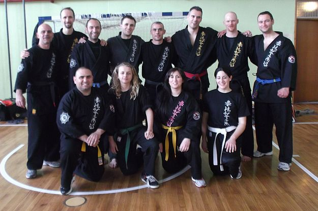 Kempo Arnis Federation members at Slovenia training camp