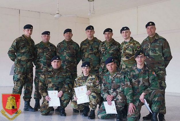 Military First Aid Instructors course organised by the ERRC