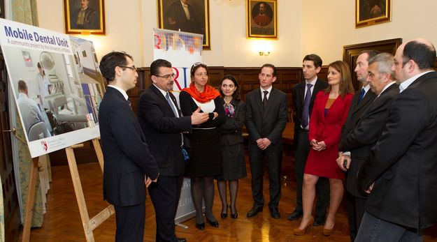 University of Malta launches mobile dental clinic project