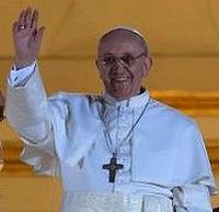 Pope Francis inauguration Mass taking place this morning