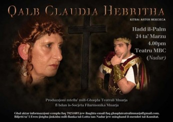 'Qalb Claudia Hebritha' a play on the Passion of the Christ