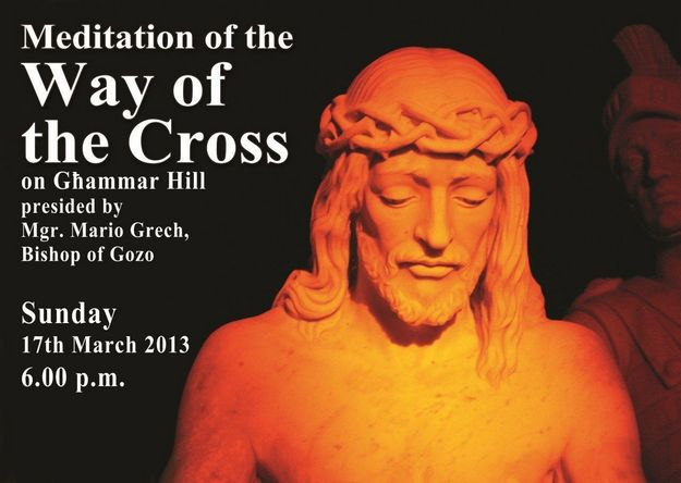 A Meditation of the Way of the Cross this coming Sunday
