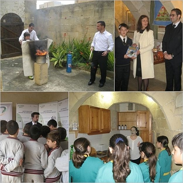 Year 6 Gozo College pupils learn about Health and Safety