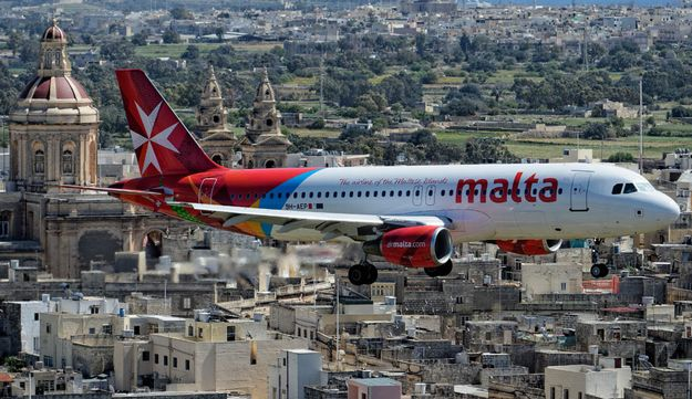 Air Malta will operate its 3 flights today despite Italian ATC strike