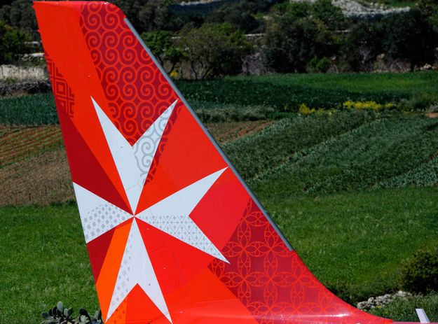Air Malta's flight arrangements to Brussels for Saturday & Sunday