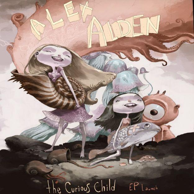 Maltese singer Alex Alden launches 'The Curious Child' EP