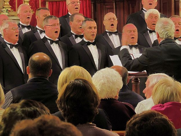Cambrian Male Choir Vocal Concert held at Kercem, Gozo
