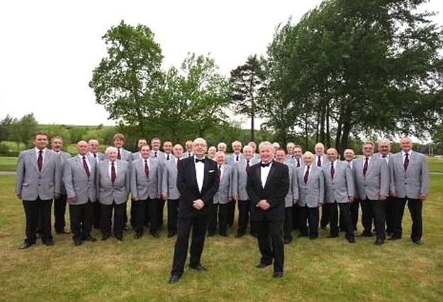 JP2 Foundation concert with the Cambrian Male Voice Choir