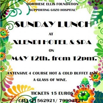 The Dorthese Ellis Foundation Mother's Day Lunch in Xlendi