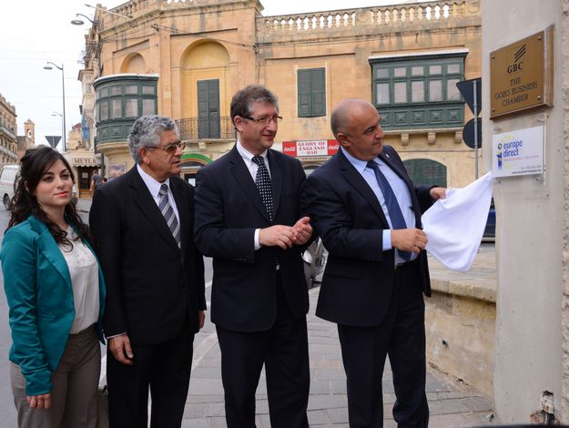 Official opening of Europe Direct Information Centre in Gozo