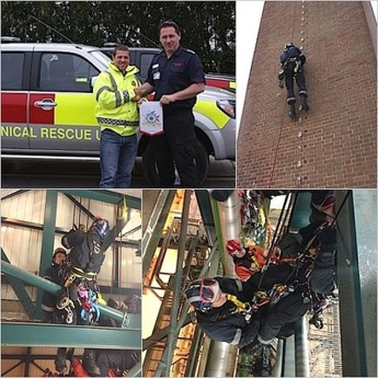 ERRC member attends UK rope access & rope rescue course