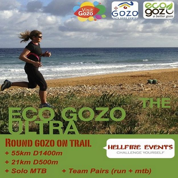 The 2nd Gozo Hellfire Ultra Trail takes place this Saturday