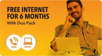Free internet for six months with new GO Duo Pack offer