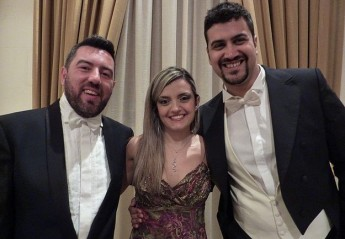 Italian trio perform vocal recital for Gaulitana Festival