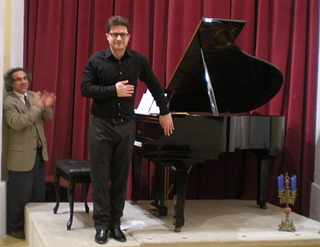 Italian pianist Nazareno Ferrugio in Concert at Gozo Ministry