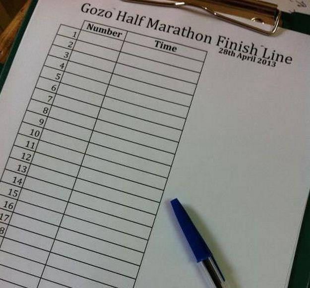 Road closures in Xaghra for Gozo Half Marathon on Sunday