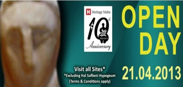 Heritage Malta celebrates 10th anniversary with Open Day