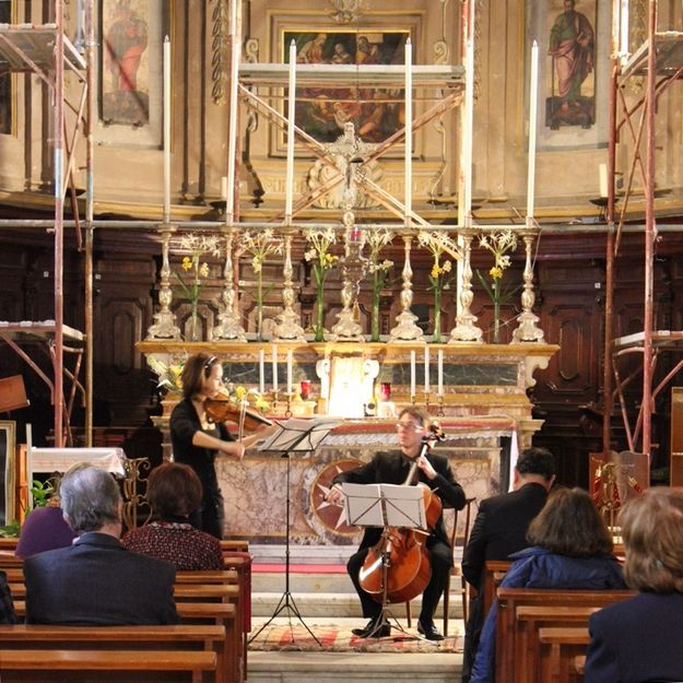 Kalypso Ensemble last seasonal lunchtime concert on Friday