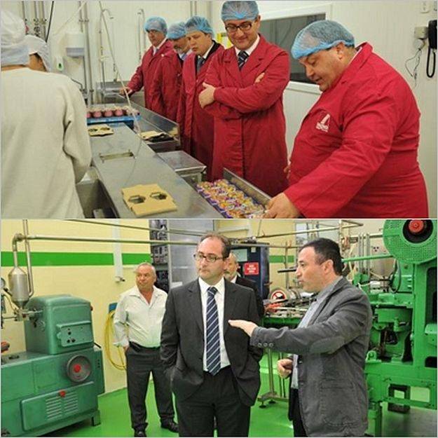 Roderick Galdes pays official visit to factories in Gozo