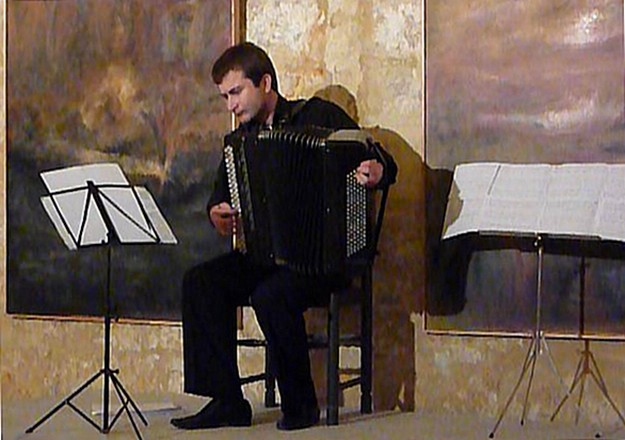 Accordion recital of Russian classical music at the Citadella