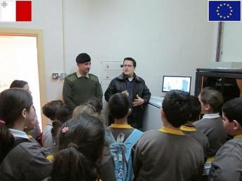 Xewkija Primary students visit the Calypso Project in Gozo