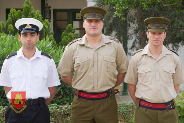 Three AFM junior officers claim top spots overseas