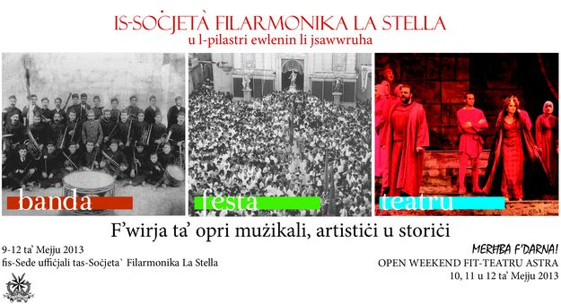 Exhibition & Open Weekend at the Teatru Astra in Victoria