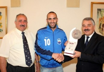 Nadur Youngsters' captain is the BOV Player of the Month