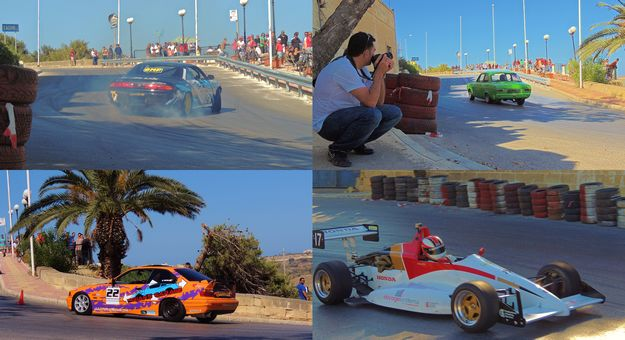 Xaghra hill climb races organised by the Island Car Club this weekend