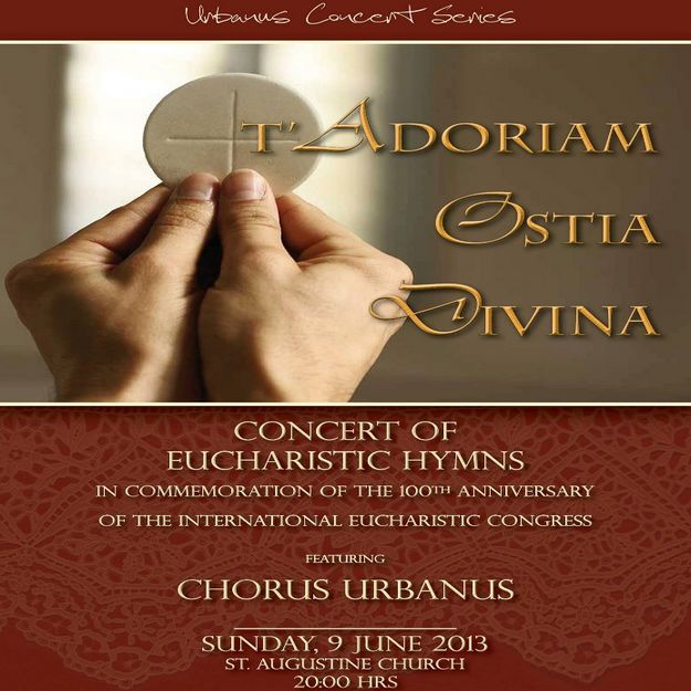 Chorus Urbanus Concert Series - 'T'Adoriam Ostia Divina'